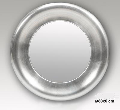 Bricogar presentaci n for Espejo redondo plateado